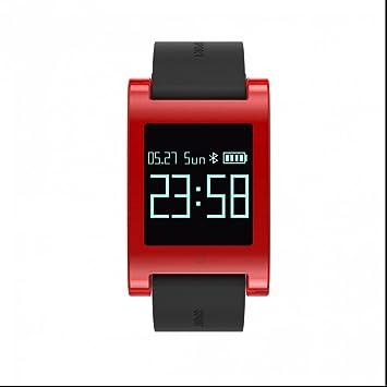Pulsometro pulsera deportiva inteligente,Pulsómetro Pulsera Actividad con Reloj Fitness Podómetro,Monitor de Sueño