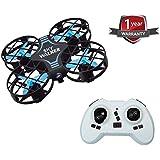 Mini UFO Quadcopter Drone 2.4G 4CH 6Axis Gyro Headless Mode Remote Control RC Quadcopter RTF Mode for Beginners(Blue)
