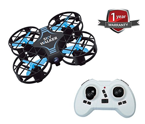 Mini UFO Quadcopter Drone 2.4G 4CH 6Axis Gyro Headless Mode Remote Control RC Quadcopter RTF Mode for Beginners(Blue)