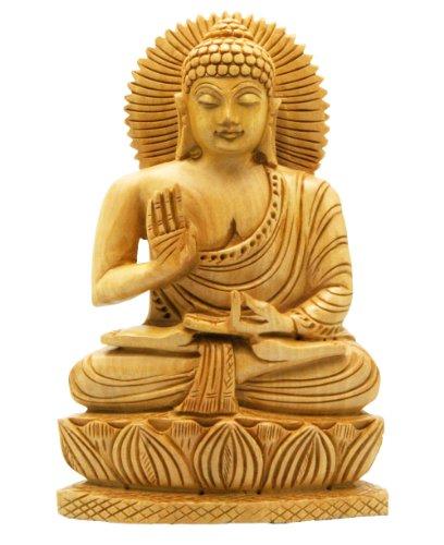 Buddha-Groove-Hand-Carved-Wood-Sitting-Buddha-Statue