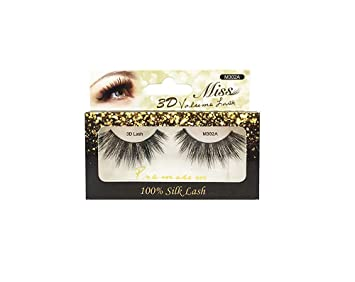 "69af7969ae6 Image Unavailable. Image not available for. Color: ""4 Pairs"" Miss  3D Volume Lash ..."