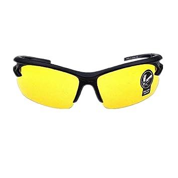 Amazon.com: Visión HD noche y táctica anteojos UV400 HD ...