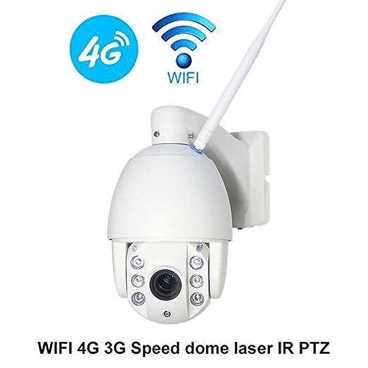 Cámara Domo De Alta Velocidad HD 3G 4G Ptz 960P Tarjeta Sim ...