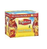 Image of Lipton Iced Tea, Gallon Size Tea Bags (48 ct.) (pack of 6)