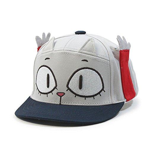 Cloud Cat (Animal Cloud Bread Cat Raccoon Kids Flat Bill Snapback Baseball Cap (Cat)