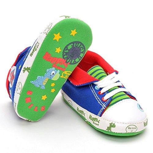 Infant Sneakers Cartoon Leinwand Sneakers, Blau - blau - Größe: 6-12 monate