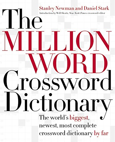 The Million Word Crossword Dictionary by HarperResource