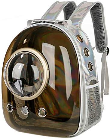 Kinmy 宇宙飛行士カプセル通気性ペット猫子犬トラベルバッグスペースバックパックキャリアバッグ
