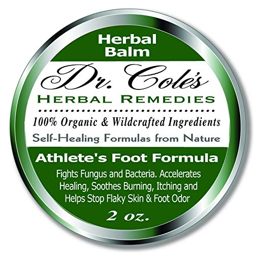 (Dr. Cole's Organic Athlete's Foot Treatment - Extra Strength, Natural, Anti-fungal Herbal Remedy Ointment That Kills Fungus - Soothes Itchy, Scaly or Cracked Feet Sanitizes Fungus & Infected Toenails)