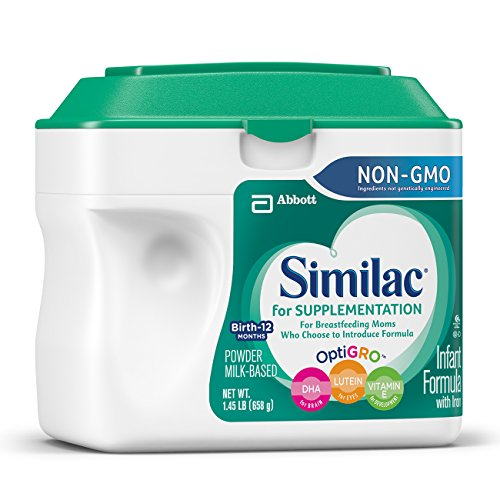 Similac For Supplementation Non-GMO Infant Formula with Iron, Powder, 23.2 Ounces (Pack of 4) by Similac (Image #11)