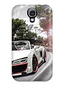 Sophie Dweck's Shop Premium 2014 Audi R8 V10 Spyder Regula Tuning Back Cover Snap On Case For Galaxy S4