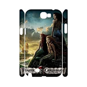 C-EUR Pirates of the Caribbean Customized Hard 3D Case For Samsung Galaxy Note 2 N7100