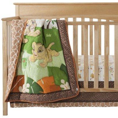 Kidsline Disney Lion King 3pc Crib Bedding Set