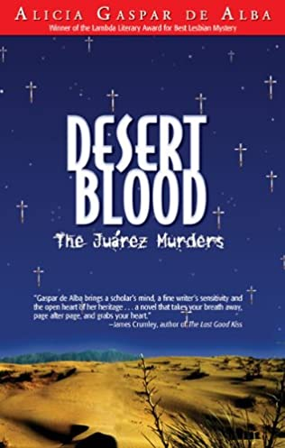 book cover of Desert Blood