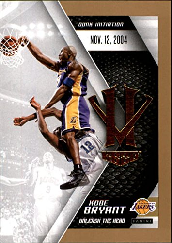 2015-16 Panini HV KB20 Unleash the Hero #10 Kobe Bryant Dunk Initiation NBA Basketball Trading Card