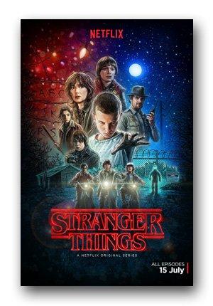 Stranger Things Poster - TV Main