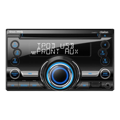 Clarion CX201 Negro 200W Receptor Multimedia para Coche - Radio para Coche (Negro, 2 DIN, 200 W, 4.0 Canales, 50 W, CD): Amazon.es: Electrónica