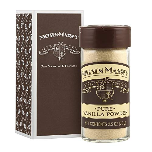 - Nielsen-Massey Pure Vanilla Powder, with Gift Box, 2.5 ounces