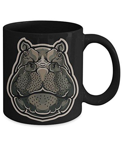 Hippopotamus Hippo River Horse Semiaquatic Animal Coffee Mug