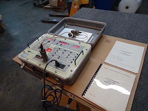 General Electrodynamics LCI-1 Load Cell Indicator Test Set 2k-100k lbs w/ Manual from General Electrodynamics