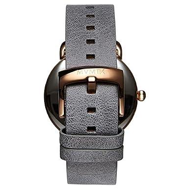 MVMT Reloj Cronógrafo para Hombre de Cuarzo con Correa en Cuero D-MR01-RGGR: Amazon.es: Relojes