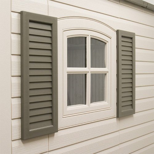 Lifetime Shed Acessories, 2 Shutters for Shed by Lifetime