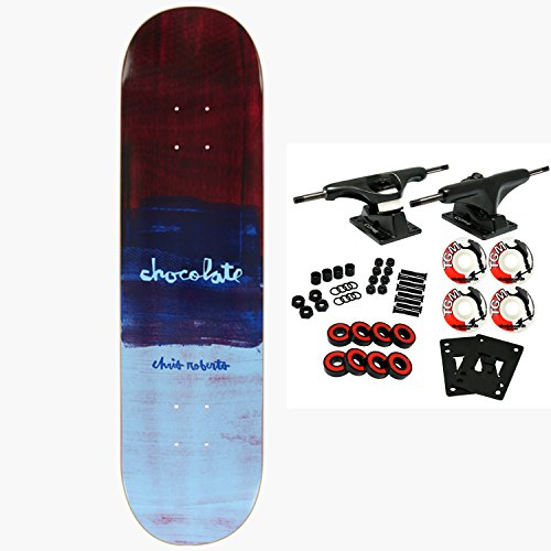Chocolate Skateboard Complete Square Hype Roberts 7.75″