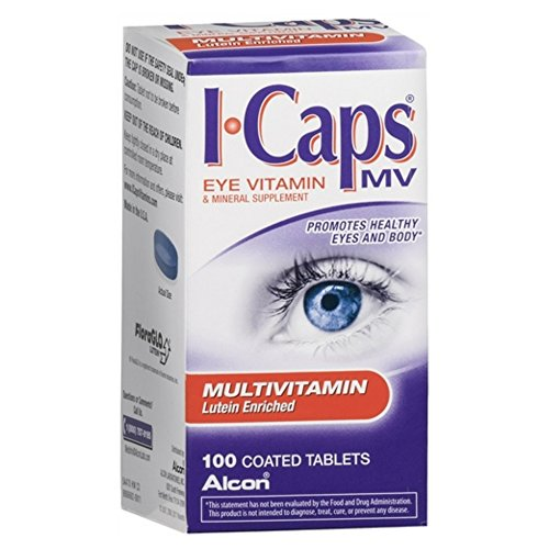 Alcon ICAPS MV Tablets 100 ea(Pack of 10)