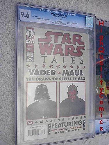 STAR WARS TALES #9, Darth Vader vs Maul, CGC = 9.6, - Maul Jim