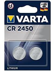 VARTA Batteri CR2450 litium knappcell 2-pack