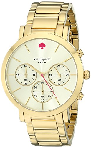kate spade new york Women's 1YRU0715 Gramercy Grand Gold-Tone Bracelet Watch