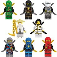 MAGICCA 8 pcs ninjago Minifigures | Building Blocks | Action Figures | Toys Set | Best Gift for Kids with All