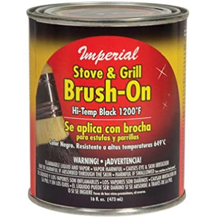 UNITED STATES HDW/U S HA CH0134 16OZ BLK Brush On Paint