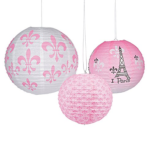 Perfectly Paris Hanging Paper
