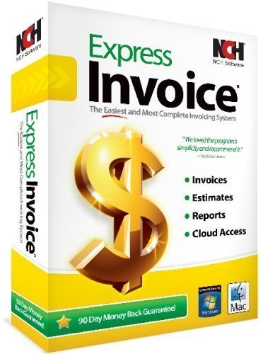 Amazoncom Express Invoice Professional Invoicing Software PCMac - Invoice and estimate programs