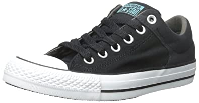 Converse Chuck Taylor All Star High Street Fashion Sneaker Shoe -  Black Charcoal White b29eeb33c