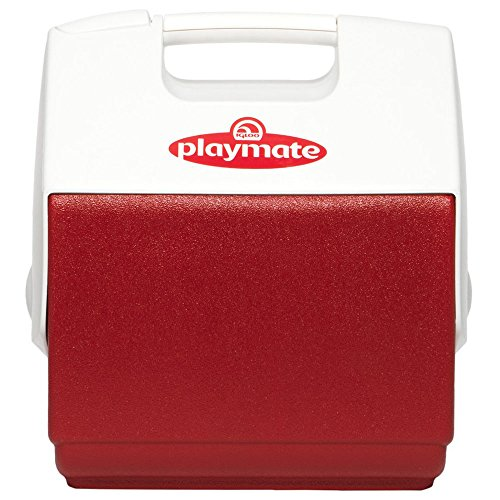 Igloo 7362 Playmate Pal 7 Quart Personal Sized Cooler (Red/White, 11.75 x 8.25 x 12-Inch)