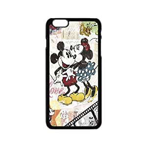 Hope-Store Disney Mickey and Minnie Case Cover For iPhone 6 Case