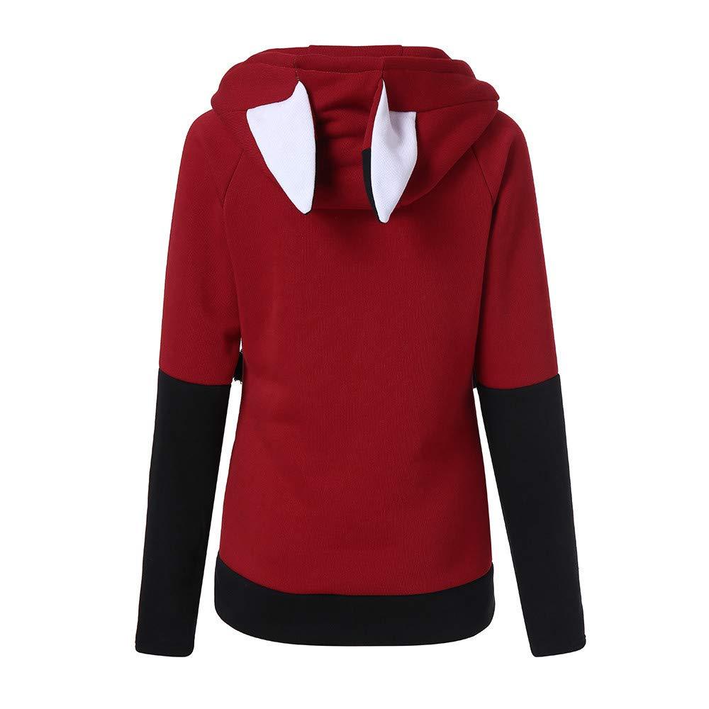 Dainzuy Ladies Sexy Casual Tops,Women's Halloween Plus Size Skew Neck Printed Sweatshirt Pullover Tops Blouse Shirt by Dainzuy (Image #3)