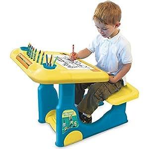 Amazon Com Minions Sit Amp Play Creative Art Desk By