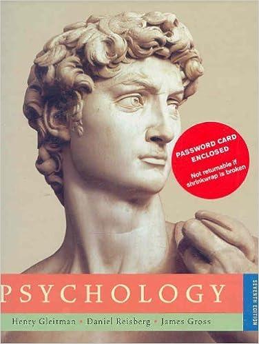 GLEITMAN PSYCHOLOGY DOWNLOAD