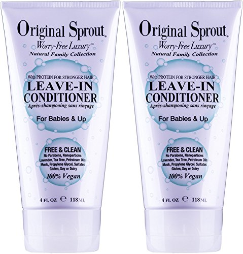 Original Little Sprout 4 oz Leave-In Conditioner (2 pack)