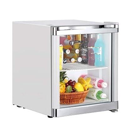 Amazon.es: WYJW Mini Nevera Bar Negro - Mantiene el refrigerador ...