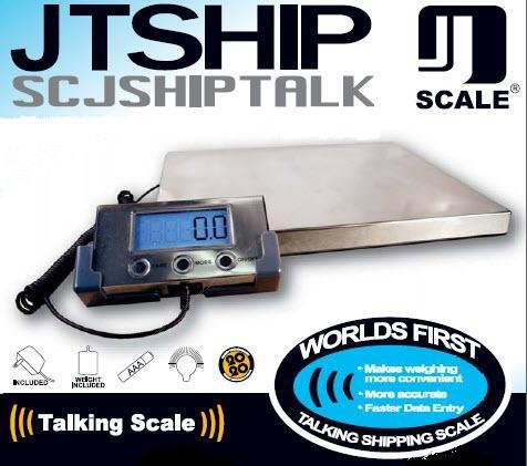 Jennings JShip 275 Talking Shipping Scale, Office Central