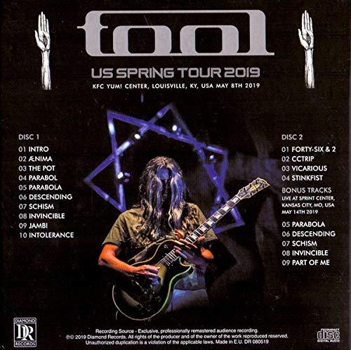 TOOL - US SPRING TOUR 2019 - KFC YUM CENTER LOUISVILLE