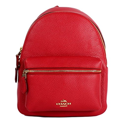 COACH MINI CHARLIE BACKPACK IN PEBBLE LEATHER F38263 by Coach