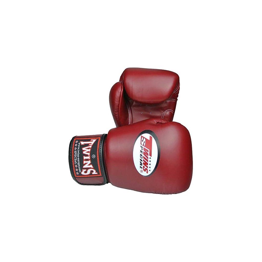Twins-Special-Boxhandschuhe-Leder-BGVL-3-Weinrot-10-Oz