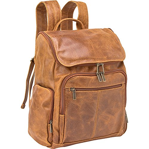 le-donne-leather-distressed-leather-computer-backpack-tan
