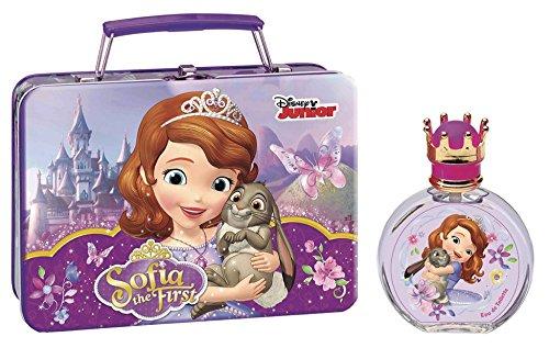 Air-Val Disney Junior Sofia, die Erste, Metallic Set Eau de Toilette (Glasflasche), 1er Pack (1 x 100 ml) P6415