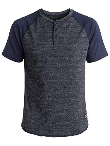 DC Henley T-Shirt Enderlin Dark Indigo